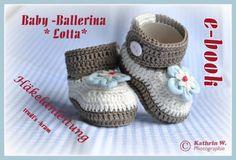 Hol Dir gleich Deine Wollreste + die Anleitung für die Babyschuhe und häkle Deinem (Enkel-)Kind süße Baby-Ballerinas, die Du individuell verzieren kannst.