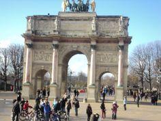 Arco del Triunfo  de Carrusel, Paris