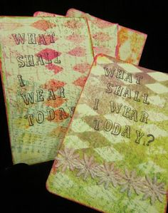 Posted by trisha too  background stamps, Gelli Plate, paper dolls, Rogue Redhead Designs http://buff.ly/1CslIQH