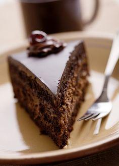 Vynikajúci čokoládový koláč