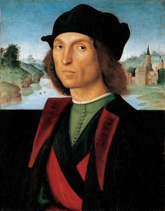 Raphaël - Raffaello - Rafael - Renaissance - Portrait of a Man