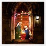 On oublie d'où vient cette fête… #noël #christmas #jesus #montreal #peace #paix. #eglise #church