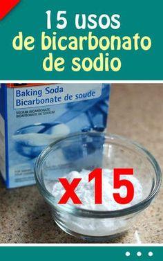 Cada #mujer debe #saber estos 15 #usos de #bicarbonato de #sodio