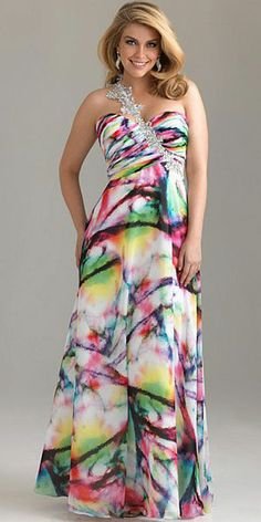 for Formal! plus size prom dress