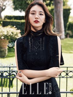 """Suzy """"To Rome With Love"""" ELLE Korea Magazine October Issue 2015."""