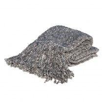 Campbell Platinum Throw Blanket