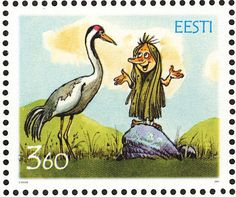 Common Crane stamps - mainly images - gallery format