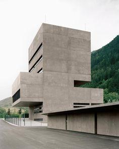 Bechter Zaffignani Architekten, Rasmus Norlander · Tiwag Power Station Control Centre & Visitor Centre, SILZ, Austria