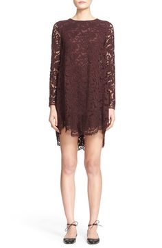 ADAM LIPPES Lace Trapeze Dress. #adamlippes #cloth #