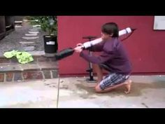 FUNNY Experiments With Rocket Gun