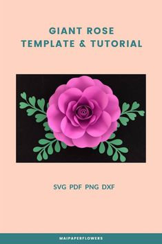 Do you wish to make giant paper roses easy? Try out this rose template and tutorial! It is great for your paper roses diy projects. Click through for more views!!! #paperrosesdiy  #paperrosesdiyeasy  #paperrosesdiytemplate  #paperrosetemplate #giantpaperroses  #paperrosetutorial  #rosetemplateprintable Paper Flowers Craft, Large Paper Flowers, Giant Paper Flowers, Paper Roses, Flower Crafts, Flower Svg, My Flower, Large Paper Flower Template, 3d Rose