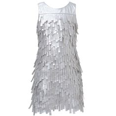 A stunning Christmas dress with sparkle accents from designer Kate Mack.