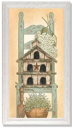 Linda Spivey Shabby Art Print