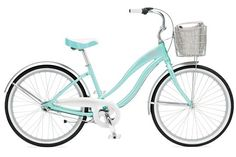 Beach cruiser...comfortable, leisurely, functional, and fun. My kind of ride. Dacquiri ice color, too. Refreshing time of fitness fun.