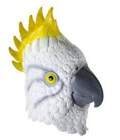Deluxe Latex Parrot Mask - Animal Masks