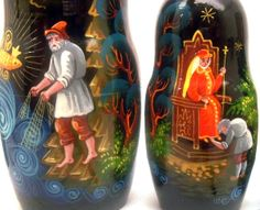 The Tale of the Fisherman and the Fish, Russian Fairytale, Myth, Greed