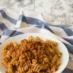 Ragù di lenticchie Bimby • Ricette Bimby Chana Masala, Ethnic Recipes, Food, Vegetarian, Essen, Meals, Yemek, Eten