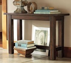 Benchwright Console Table, Rustic Mahogany Stain | Mahogany Stain, Console  Tables And Consoles