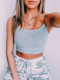 Cute Lazy Outfits, Teenage Outfits, Teen Fashion Outfits, Retro Outfits, Trendy Outfits, Summer Crop Top Outfits, Fashion Style Women, Party Outfit Summer, Outfit Ideas Summer