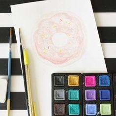 Have you ever wanted to try watercolor but don't know where to begin? Here's a helpful watercolor basics video to get you started!