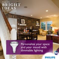 Philips LED Energy Saving 8-Watt PAR20 indoor flood light is ideal ...