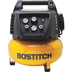 """Check out """"Bostitch 6 Gallon Pancake Air Compressor"""" from Do It Best"""