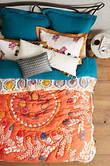 Zocalo Embroidered Quilt $198.00 – $248.00 from Anthropologie