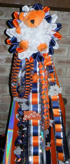 Teddy Bear Homecoming Mums $130.00