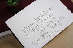 handwritten calligraphy