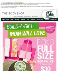 Body Shop - The Mother of All Body Butter | 3 for $30