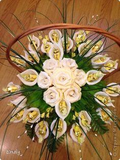 Desing Inspiration, Kanzashi Tutorial, Flower Making, Master Class, Diy And Crafts, Floral Wreath, Bouquet, Wreaths, Homemade