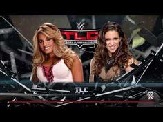WWE 2K17 Trish Stratus vs Stephanie McMahon TLC bikini match