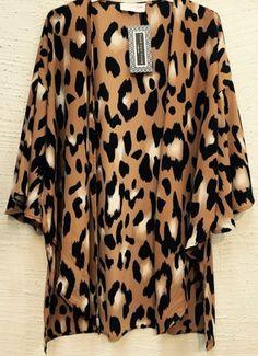Fall Leopard Cardigan