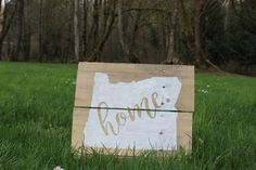 Oregon home sign, Oregon wood sign, rustic wood sign, reclaimed wood sign, Oregon home decor, Oregon, Portland, hand painted wood sign by CKwoodCo on Etsy https://www.etsy.com/listing/512873350/oregon-home-sign-oregon-wood-sign-rustic