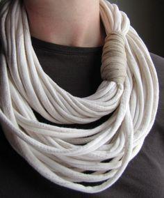 20 modelos de collares de trapillo sin tejer   El blog de trapillo.com