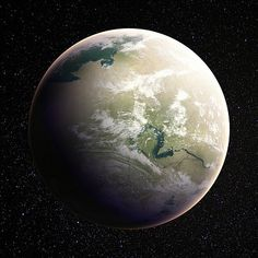 there are permanent patches of jungles but the planet's surface often changes due to unpredictable sandstorms; Fantasy World Map, Fantasy Art, Alien Planet, Red Planet, Planet Pictures, Planet Design, Planets And Moons, Planetary Science, Space Planets