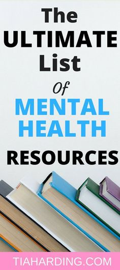 The Ultimate List of Mental Health Resources - Tia Harding : The Ultimate list of mental health resources. Mental Health illness can be overwhelming. The ultimate list of mental health resources is here to help you cope and overcome depression. Mental Health First Aid, Mental Health Therapy, Mental Health Nursing, Mental Health Illnesses, Mental Health Recovery, Mental Health Counseling, Mental Health Resources, Mental Health Care, Mental Health Disorders