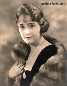 Clara Kimball Young - Silent and sound movie star  1890-1960
