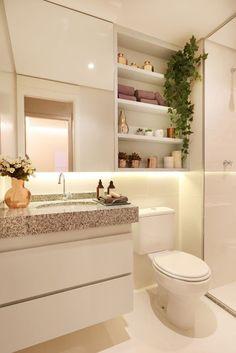 Construindo Minha Casa Clean: 6 Dicas para Decorar um Banheiro de Apartamento!