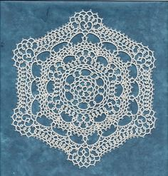 Doilies are what tatting is really all about but people don`t use them any more. One day I will try framing them to sell as art and see what happens.
