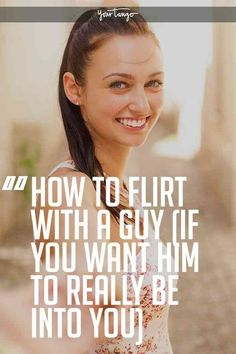 While many women know how to flirt with a guy, they don't necessarily know how to get a guy to like you. That all starts with putting down your guard and showing interest in the man you want to date.#flirt #flirting #men #dating