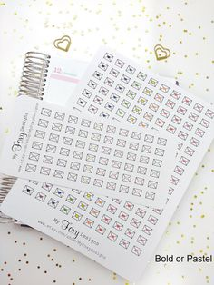 Envelope Stickers Mail Stickers Happy Mail by MyFoxyDesigns