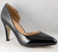Pantofi de Dama Stiletto decupati Negru - Incaltaminte Online Pumps, Heels, Fashion, Heel, Moda, Fashion Styles, Pumps Heels, Pump Shoes, High Heel