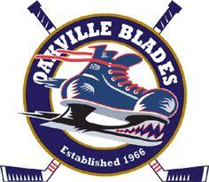 Oakville Blades, Oakville, Ontario. Conference SouthWest; Division South OJHL #Canada; 1971