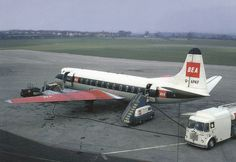 BEA Viscount G-APKF at Birmingham airport, date unknown | Flickr - Photo Sharing!