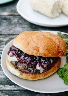 Recipe: Beef Burgers with Cabernet Onion Jam