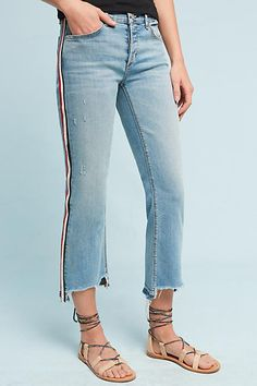 McGuire Ibiza Mid-Rise Cropped Skinny Jeans