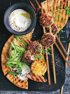 Spiced Turkey Skewers | Donna Hay