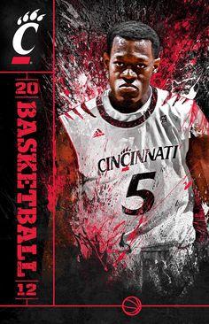 Cincinnati Bearcats Basketball 2012. Justin Jakson.