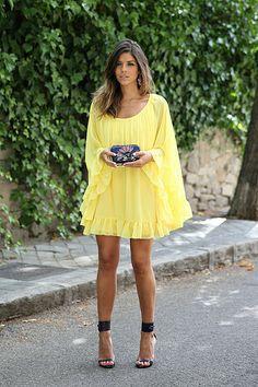 Sunny happy dress !!